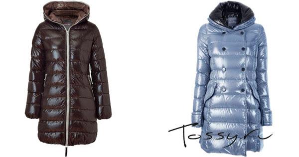 Зимнее пальто длиною по колено