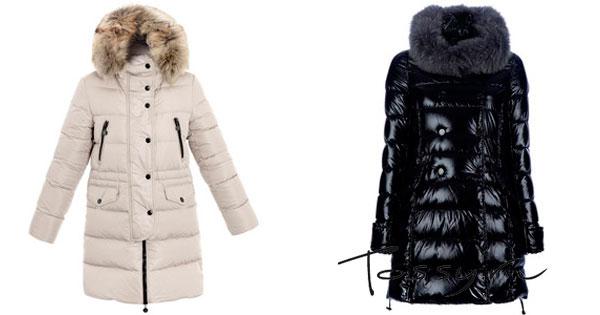 Белое пальто и черное лаковое
