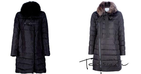 синтепоновое пальто женское фото