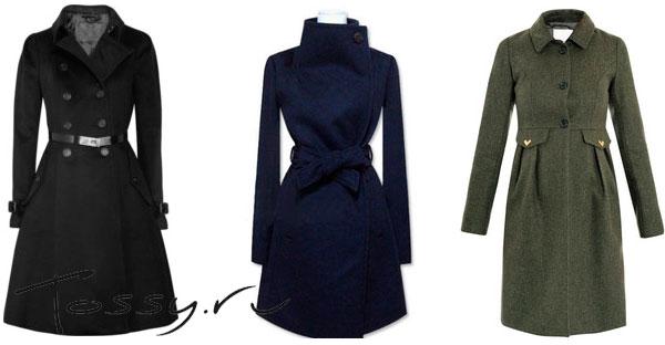 Классические модели удлиненного пальто