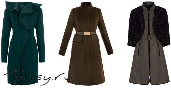 Модные шерстяные пальто 2013
