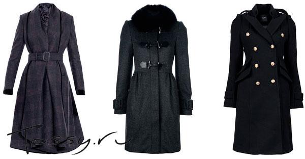Пальто от знаменитых дизайнеров