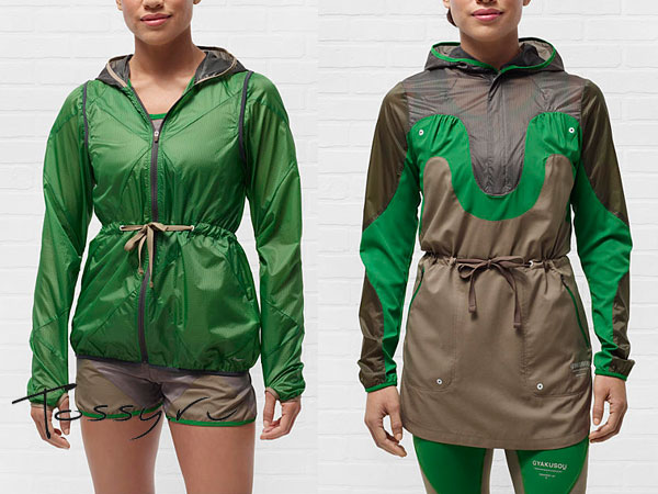 Зеленые женские куртки Nike