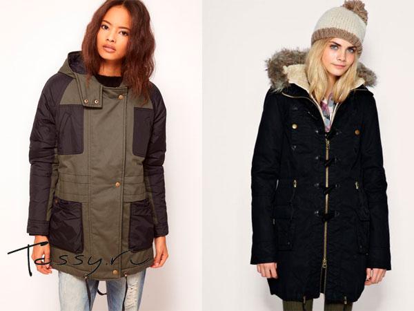Женские куртки-парки - фото e72e77037fa