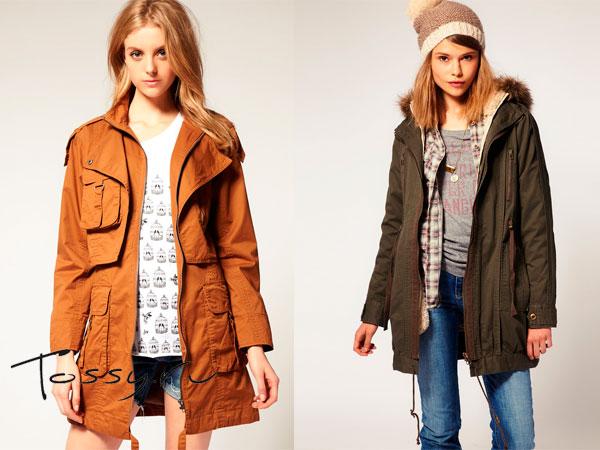 Фото весенних и осенних курток
