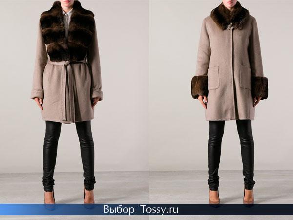 Фото модных пальто 2014