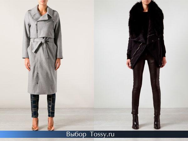 Фото женских зимних пальто с поясом