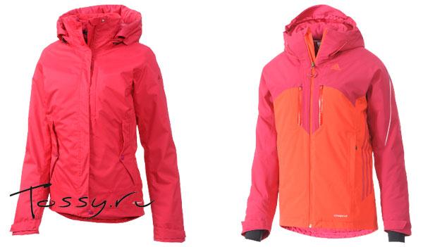 Фото розовых зимних курток
