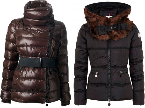 Стильные пуховые куртки Moncler