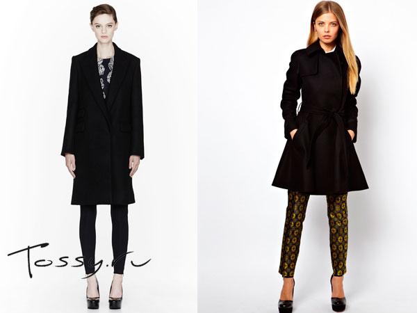 Модные пальто от дизайнеров