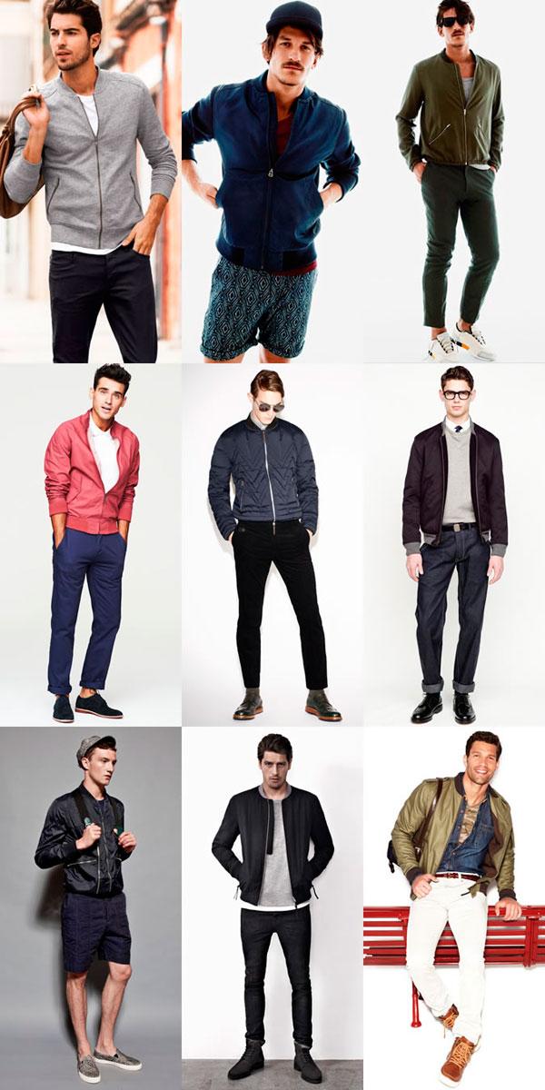 Красные куртки мужские кожаные