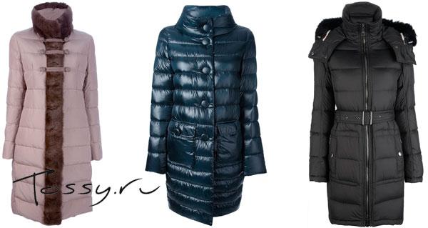 Женские куртки и пальто с мехом