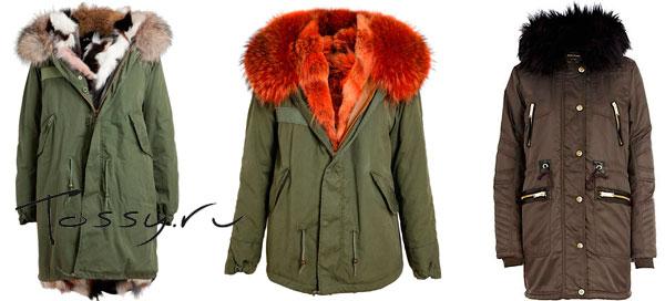 Фото женских зимних курток-парок
