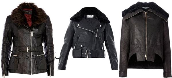 Теплые куртки с меховым воротником