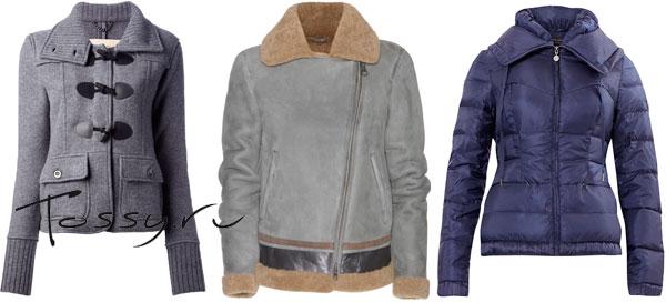 Фото классических зимних курток для женщин
