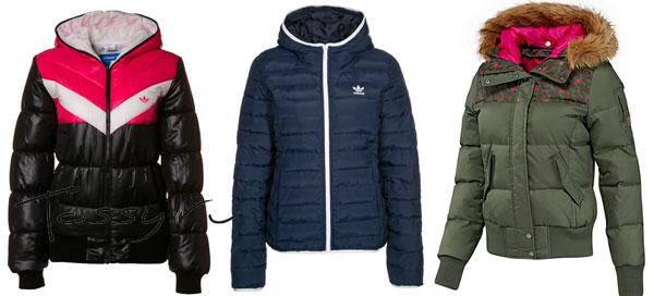 Спортивные пуховые куртки Адидас