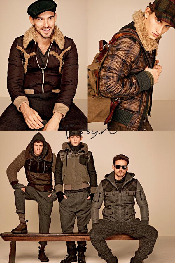 Мужские короткие куртки с принтом