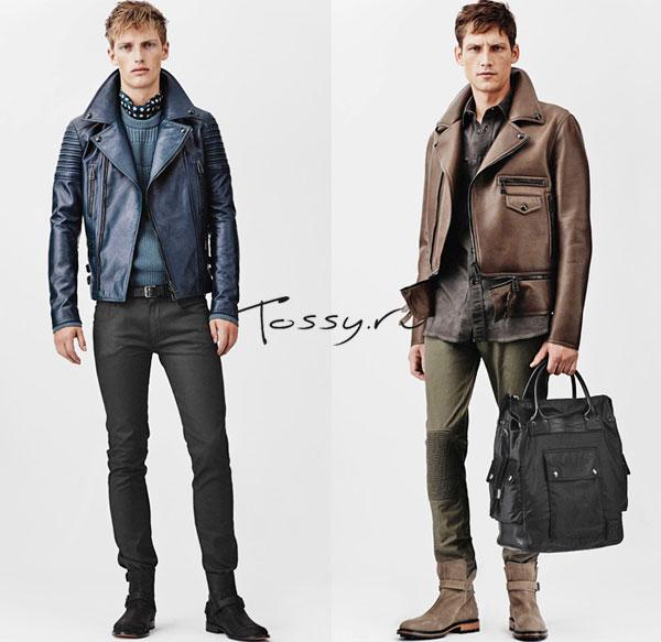 Кожаные куртки от Belstaff 2014