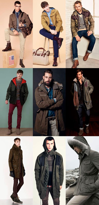 Мужские куртки разных цветов
