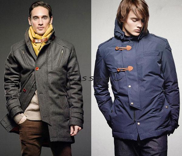 Фото мужских курток-парок