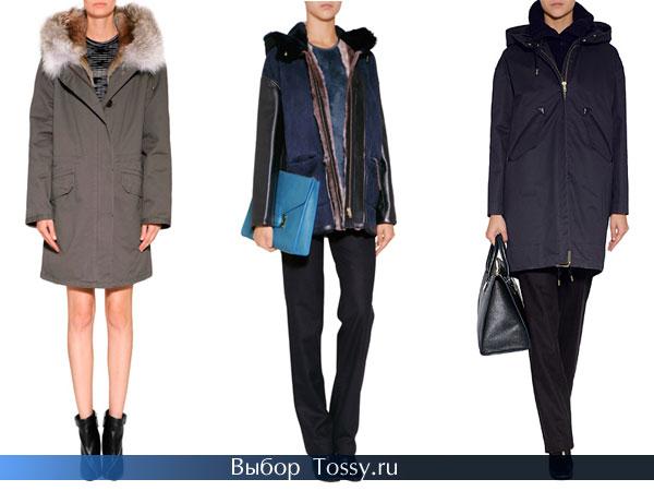 Фото стильных дизайнерских пальто