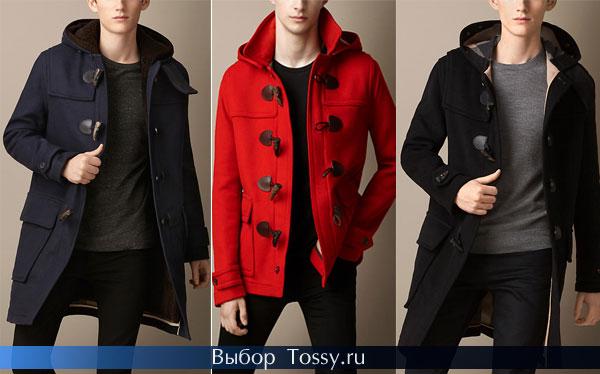 Фото мужских пальто с капюшоном