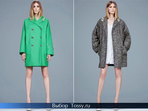 Женские пальто 2014 от Versace