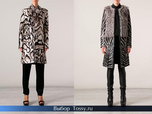 Черно-серый леопардовый принт