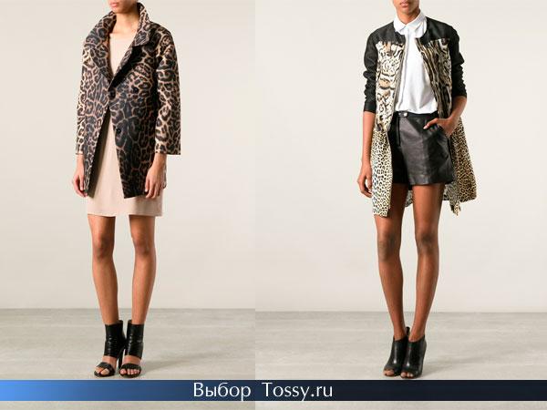 Женские пальто с коротким рукавом