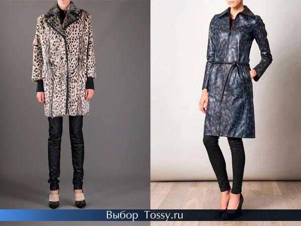 Классические фасоны пальто