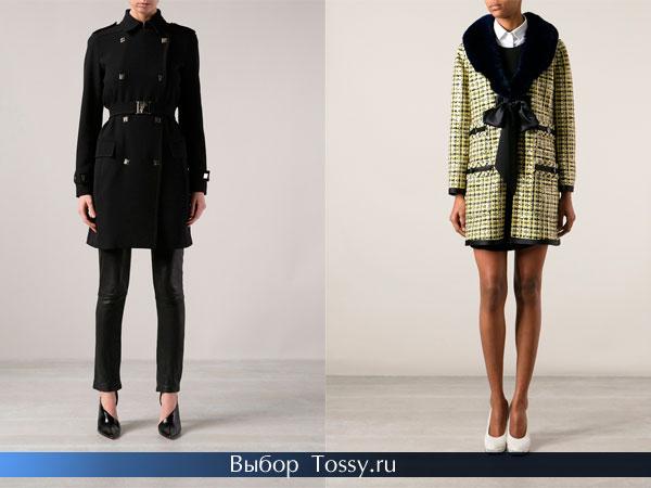 Зимнее женское пальто 2014