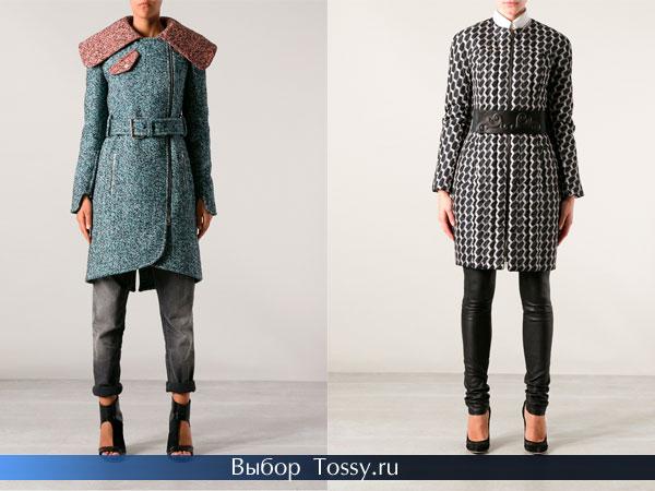 Модные строгие пальто 2014