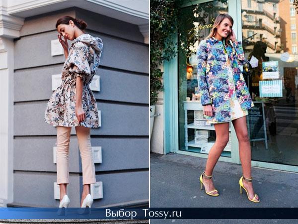 Женское пальто с поясом и капюшоном