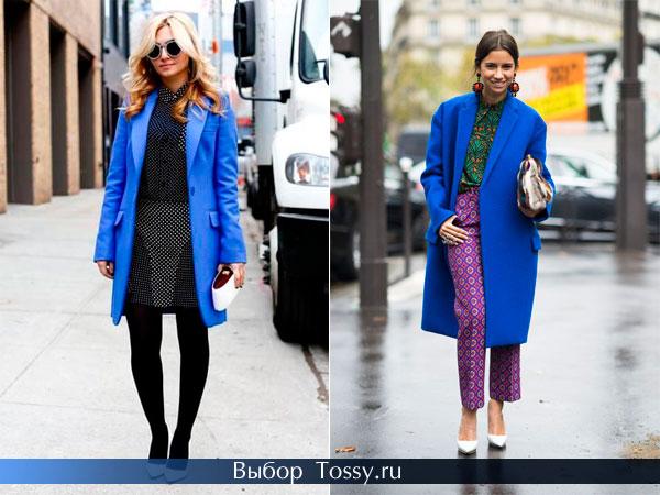 Классические модели пальто с нашитыми карманами