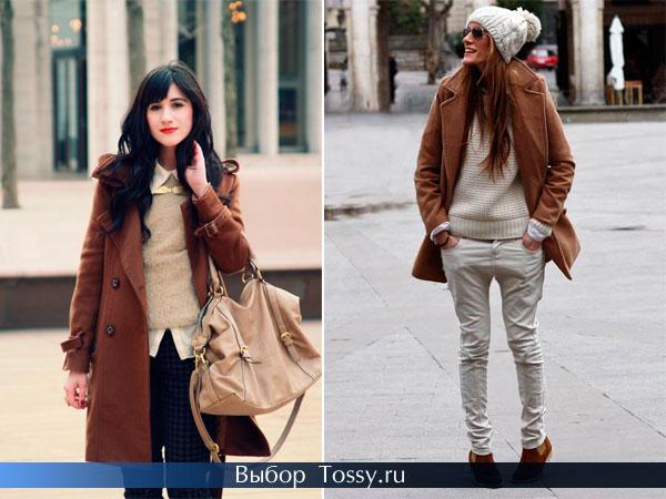 Коричневое пальто 2014