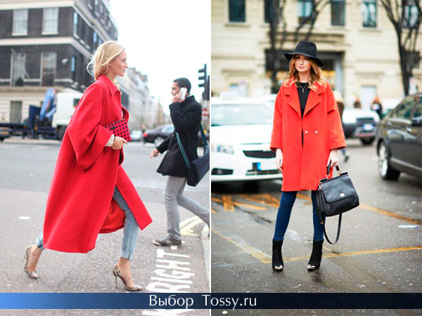 Строгое пальто для бизнес леди