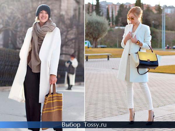 Весенние модели пальто