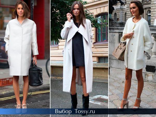 Оригинальные фасоны пальто 2014