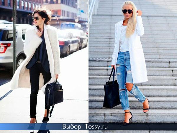 Фото классических женских пальто