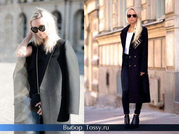 Оригинальные модели осенних пальто