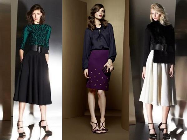 Escada деловые юбки