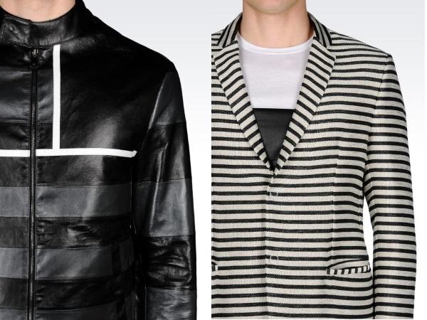 графичная одежда Импорио Армани