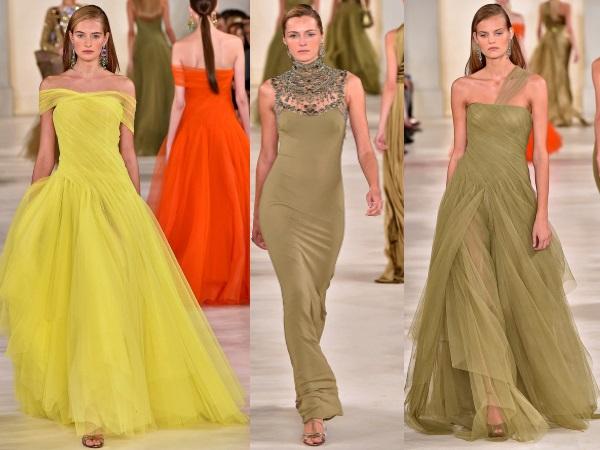 вечерние платья Ralph Lauren