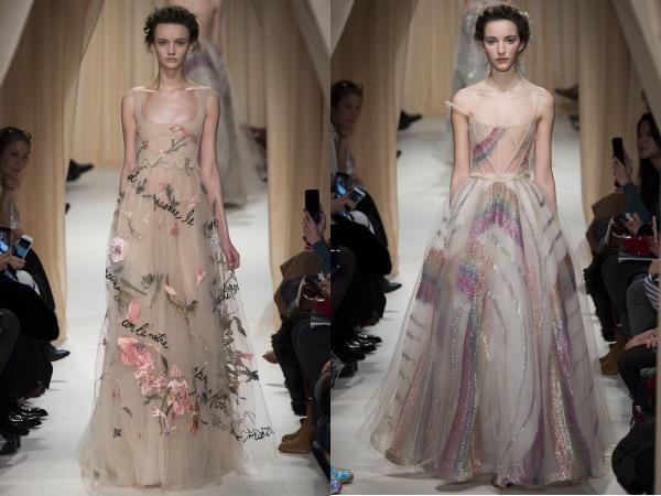 красивые платья Валентино