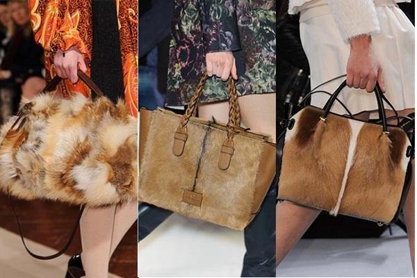 меховые сумки фото