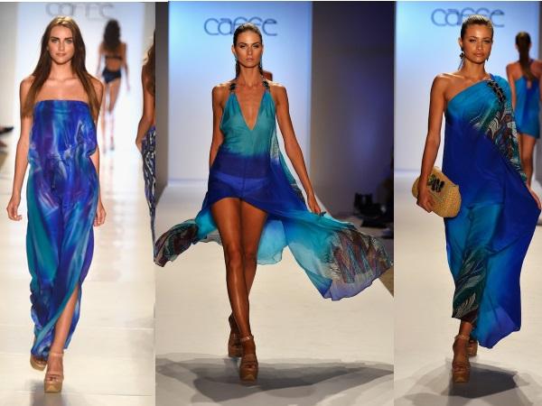 платья пляжные в пол фото