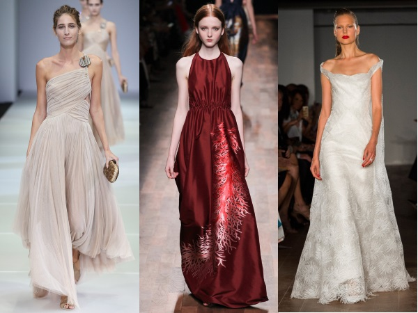 платья с пышными юбками 2015