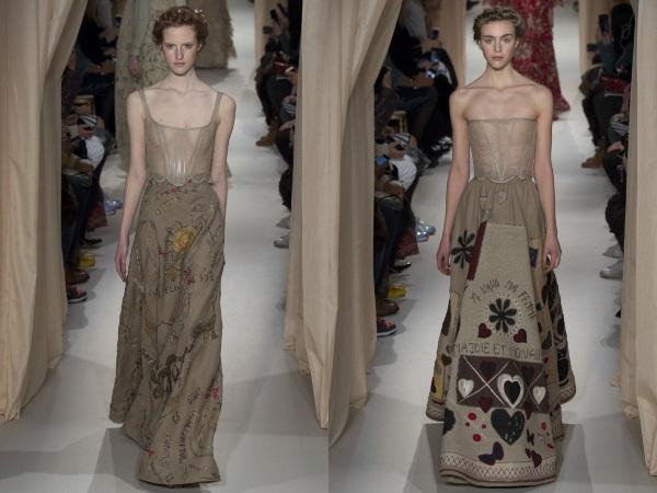 платья с пышными юбками Валентино