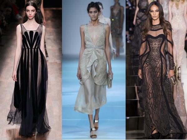 сексуальные вечерние платья 2015 Vflentino, Giorgio Armani, Versace