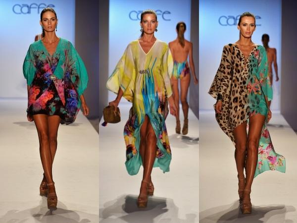 пляжные платья и туники 2015 с широкими руковами